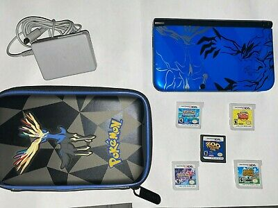 $153.50 • Buy Nintendo 3DS XL Pokemon X And Y Limited Edition XY Blue Console W/ Charger