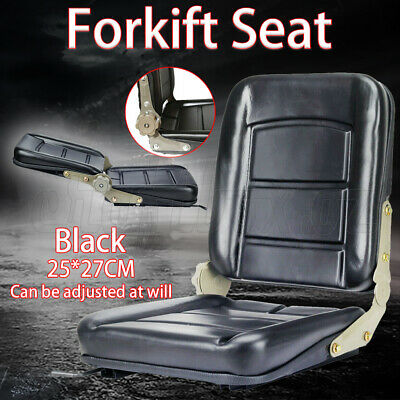 AU56.98 • Buy Forklift Seat Chair Adjustable Leather Bobcat Excavator Tractor Machinery AU