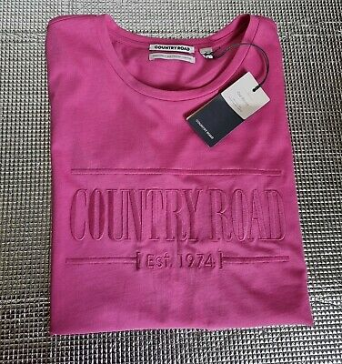 AU34.99 • Buy Country Road Heritage Embroidered Logo T-shirt Size M, 12,BNWT RRP $59.95