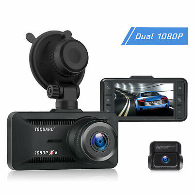 AU84.99 • Buy 1080P Dual Dash Cam Front And Rear Car Camera 3  IPS Screen Recorder Reverse New