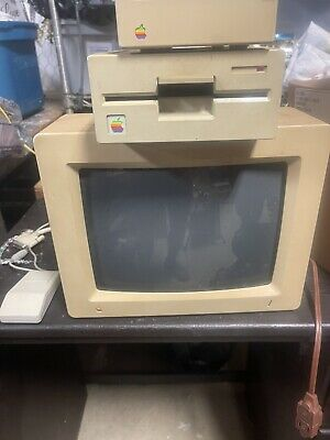£731.23 • Buy Vintage Apple II GS Computer Model A2S6000 With 1 MB Card 256K Populated Works
