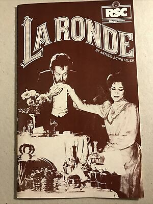 £1 • Buy LA RONDE The RSC At The Aldwych Theatre 1982 Programme