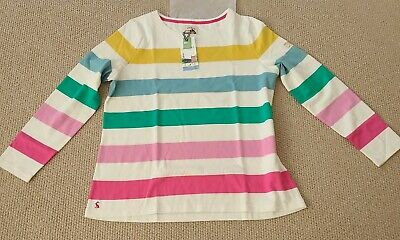 £14 • Buy Joules Womens Harbour Long Sleeve Jersey Top - Hotch Potch - Size 18-BNWT