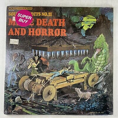 £36.37 • Buy BBC Records Sounds Effects 21 More Death & Horror Halloween Vinyl Record SEALED!