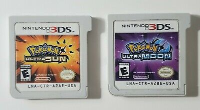 AU110.38 • Buy Pokemon Ultra Sun And Ultra Moon Nintendo 3DS Game Cartridge Only