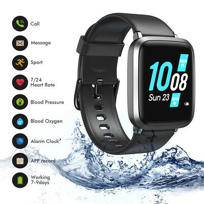 $10.44 • Buy Koogeek Blood Oxygen Smart Watch Fitness Tracker Heart Rate For Iphone Android