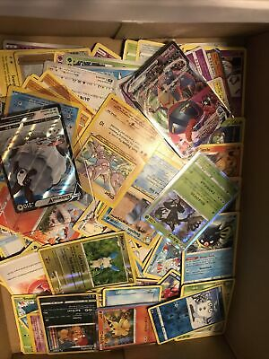 $20.49 • Buy Pokemon Card Lot 500+ Official TCG Cards Ultra RARE Included | Holos*Read Ad*
