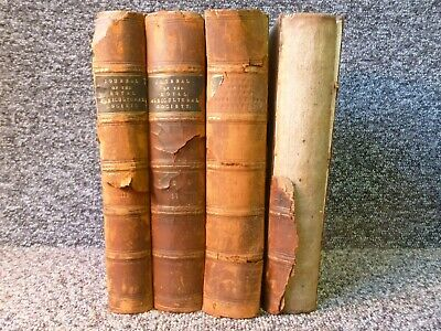 £50 • Buy Journal Of The Royal Agricultural Society Vols III IV VIII X Four Volumes 1842 -