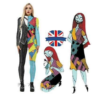 £13.99 • Buy Halloween Nightmare Before Christmas Jumpsuits Cosplay Party Performance Costume