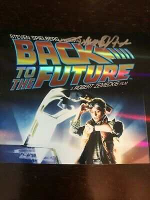 £54.84 • Buy Michael J Fox Signed Dvd Cover With Coa