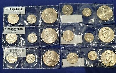 AU20 • Buy United States 2010 - Set Of Coins 10ct,25ct ,50 Cent In UNC X 6 Sets