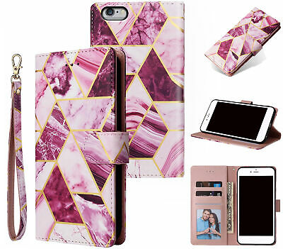 AU14.90 • Buy Iphone 6+ 6S+ (5.5 ) Case Gilded Marble Pattern