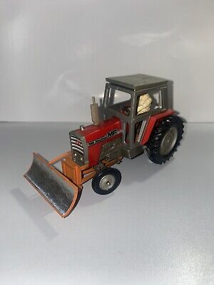 £15 • Buy Britains Massey Ferguson 595 Tractor With Driver And Bucket Shoveler