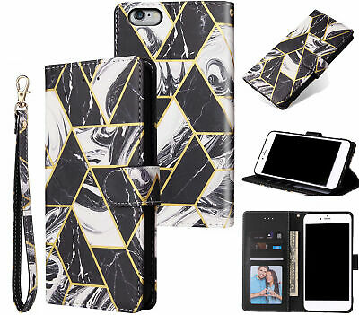 AU14.90 • Buy Iphone 6 6S (4.7 ) Case Gilded Marble Pattern