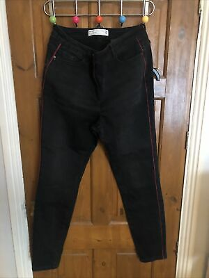 £3.20 • Buy Womens Ladies Next Black Jeans Relaxed Skinny 16L Worn About Twice !
