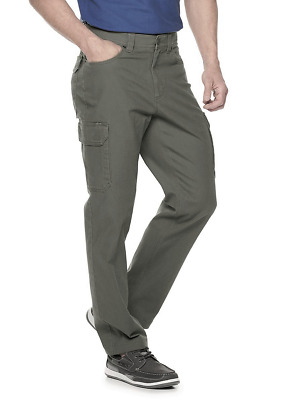 £21.93 • Buy Croft & Barrow Straight-Fit Canvas Utility Cargo Pants, 48X30, Olive Green, NWT