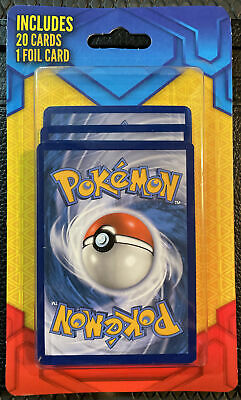$9 • Buy RARE Mystery Pokemon Pack Of 20 Cards With 1 Foil Card Factory Sealed