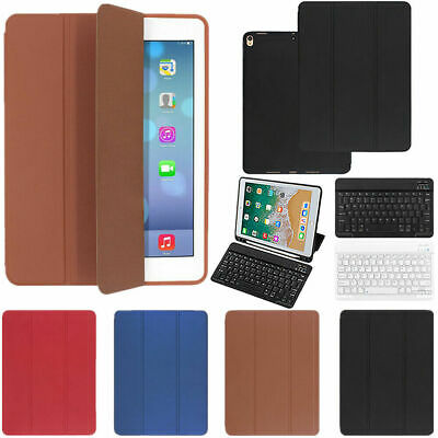 AU34.69 • Buy Bluetooth Keyboard Leather Shell Case Cover With Pen Slot For IPad Pro 10.5 2017