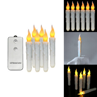 £7.50 • Buy Candle Light Remote Control Flameless Flickering Electronic Birthday Taper