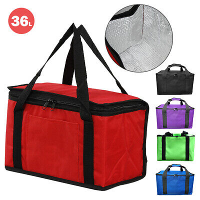 £8.99 • Buy 36L Extra Large Cooling Cooler Cool Bag Box Picnic Camping Food Ice Drink Lunch