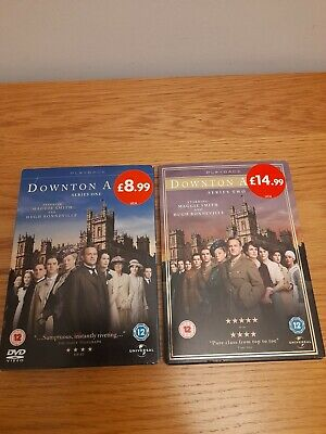 £6.99 • Buy  Downtown Abbey Series One And Series Two DVDs
