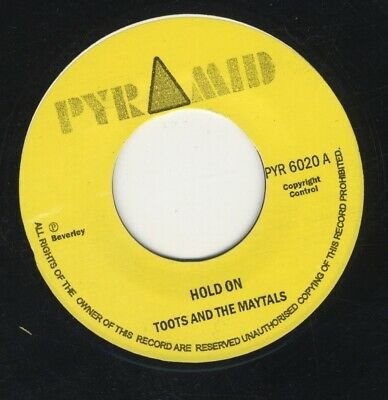 £6.99 • Buy Toots &The Maytals / Roland Alphonso Hold On / On The Move MINT 7  PYRAMID SKA