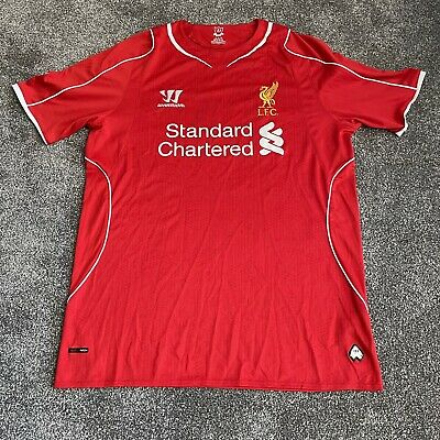 £15 • Buy Liverpool Football Club 2014/15 Warrior Replica Home Shirt Size Large