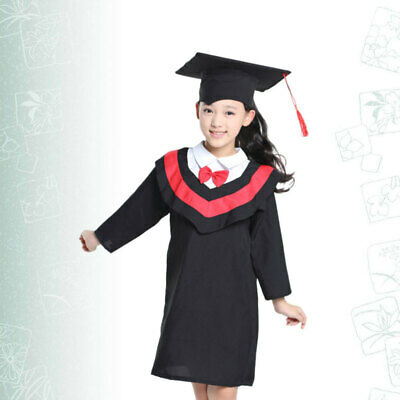 £27.83 • Buy 1PC Academic Lovely Kids Graduation Gown And Cap Tassel For Performance Cosplay
