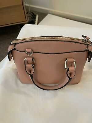 AU24.80 • Buy Forever New Handbag Small To Medium  Faux Leather Peach Clean Inside GUC