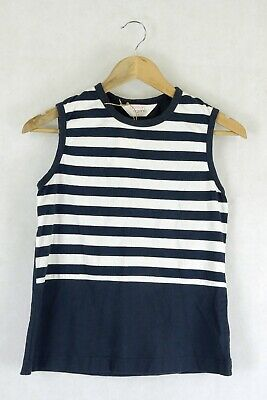 AU44 • Buy Gorman Striped Blue And White T-Shirt 8 By Reluv Clothing