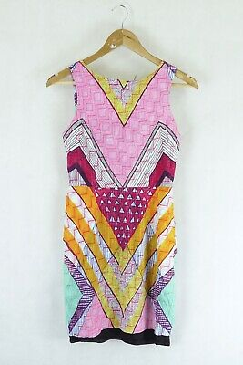 AU82.50 • Buy Gorman Colourful Dress 10 By Reluv Clothing