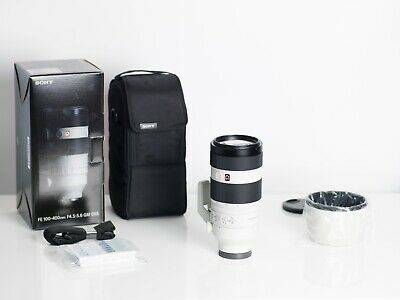 AU2799 • Buy Sony FE 100-400mm F/4.5-5.6 GM OSS Lens In Mint Condition, Boxed