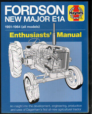 £9.99 • Buy Tractor Book: Fordson New Major E1A 1951-1964 (all Models) Enthusiasts Manual
