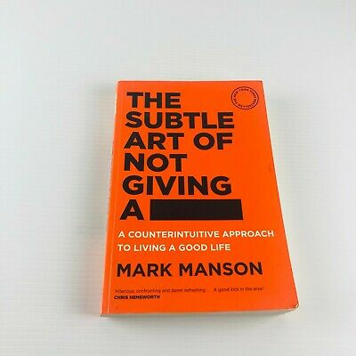 AU19.95 • Buy The Subtle Art Of Not Giving A F*ck By Mark Manson Self Help Large Paperback