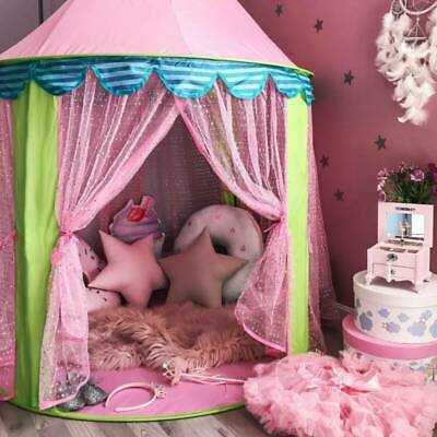 £32.30 • Buy Outdoor & Indoor Princess Fairy Castle Tent Playhouse Garden Game Toy Play House