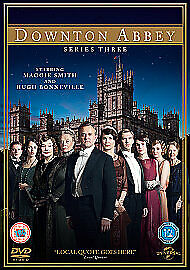 £4.95 • Buy Downtown Abbey Series Three Dvd Boxset Brand New & Sealed Quick Despatch