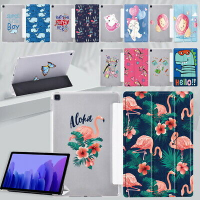 £4.99 • Buy Cartoon Leather Tablet Stand Cover Case For Samsung Galaxy Tab A 10.1 / A7 10.4