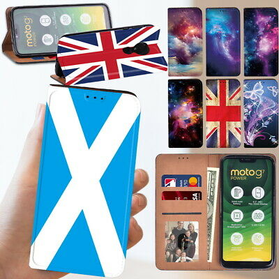 £3.99 • Buy WALLET LEATHER CASE STAND COVER Fit Motorola Moto E6 Plus Play E6s G7 G8 Power