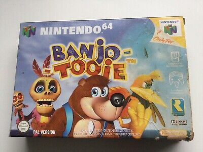 £100 • Buy Banjo Tooie (Nintendo 64, 2001) - Complete With Box And Manual - Damage To Box