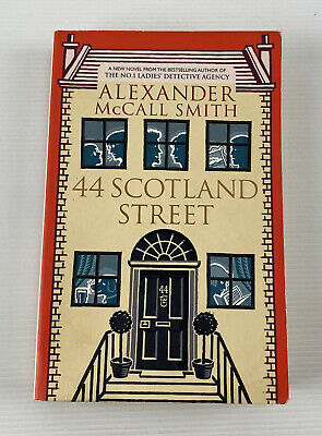AU15.95 • Buy 44 Scotland Street By Alexander McCall Smith Humour Crime Fiction Paperback Book