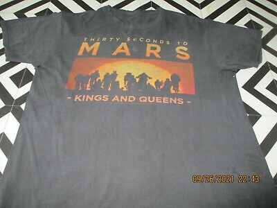 £0.99 • Buy Mens 2010 Vintage 30 Seconds To Mars T Shirt Hipsta S/m Rave Spellout Wrecked
