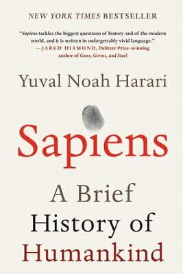AU14.08 • Buy Sapiens: A Brief History Of Humankind