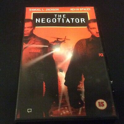 AU9.27 • Buy VHS Video - The Negotiator - Samuel L Jackson, Kevin Spacey