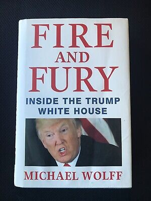 AU12.12 • Buy Book By Michael Wolff Fire And Fury Inside The Trump White House (Hard Cover)