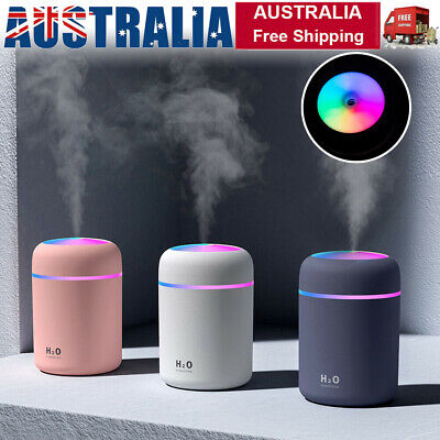 AU16.69 • Buy USB Car Home Humidifier Air Purifier Freshener Aroma Essential Oil Diffuser UK