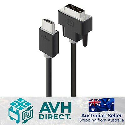 AU19.10 • Buy Alogic DVI-D To HDMI Cable Male To Male - Pro Series - 2M