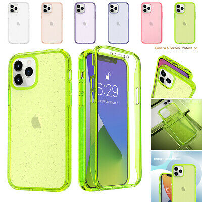 AU12.26 • Buy For IPhone 11 12 Pro Max XS XR 8 7 Plus SE Clear Case Full With Screen Protector