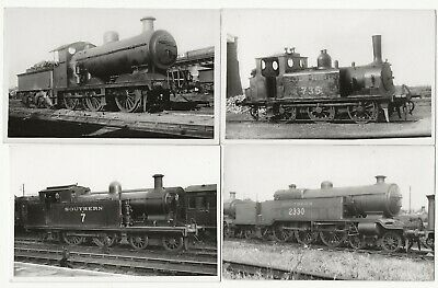 £4.99 • Buy 10 Photographs Of Southern Railway Steam Engines Trains Locomotives