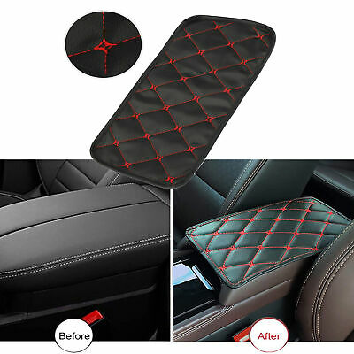 AU11.66 • Buy Universal Leather Auto Center Console Armrest Pad Car Seat Box Cover Protector