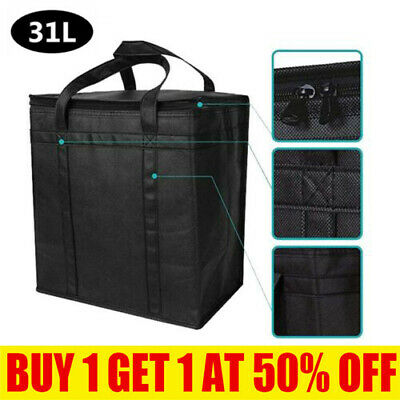 £8.29 • Buy 31L Cooling Cooler Cool Box Food Ice Drink Lunch Bag Camping Picnic Extra Large/